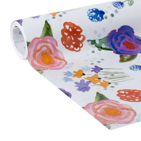 "The Pioneer Woman Celia Floral Adhesive Laminate Shelf Liner, 20"" x 12'"