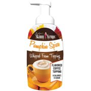 Jordans Skinny Syrups - Pumpkin Spice Whipped Foam Topping