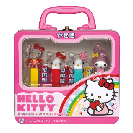 PEZ Hello Kitty Candy and Dispensers Gift Set, 10 pc