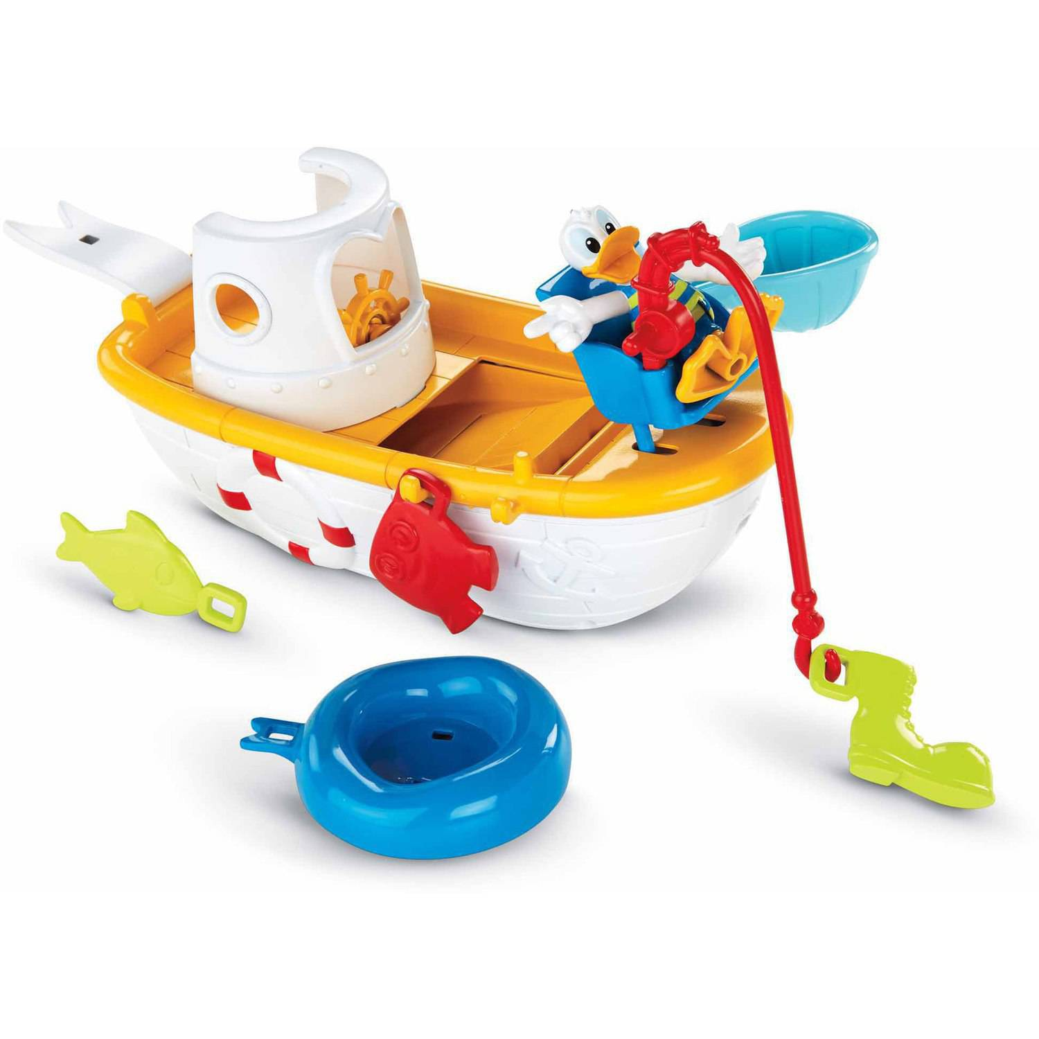 Fisher Price Mickey Mouse Clubhouse Quacky Fishin' Boat