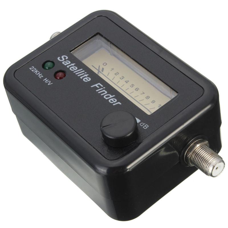 Satellite Signal Antenna FTA HD Monitors Signal Strength Meter Finder Best