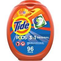 Tide Pods Original, Laundry Detergent Pacs, 96 ct.
