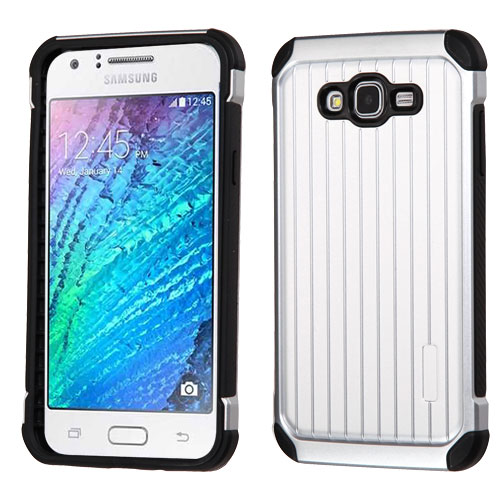 For Samsung Galaxy J7 Suitcase Hybrid Impact Armor Protector Case Cover