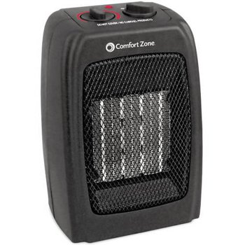 Comfort Zone 5120-BTU Ceramic Heater