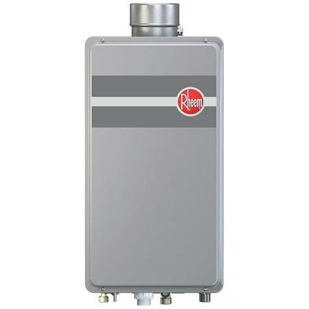 Rheem RTG-70DVLN-1 160,000 BTU Natural Gas Mid Efficiency Indoor Tankless Water -