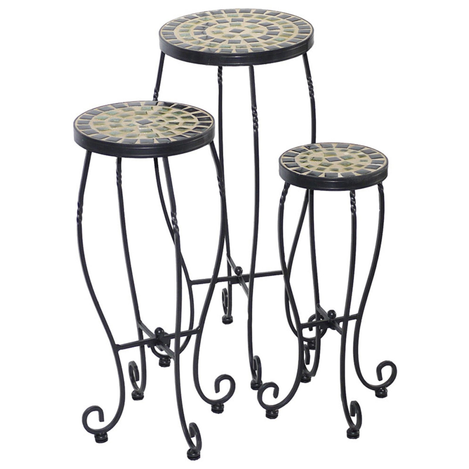 Alfresco Home Shannon Plant Stands Set of 3 by Plant Stands