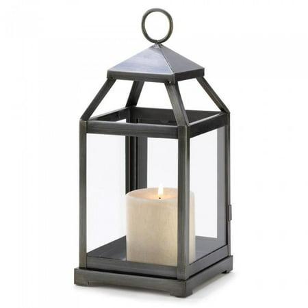 RUSTIC SILVER CONTEMPORARY - Rustic Lantern