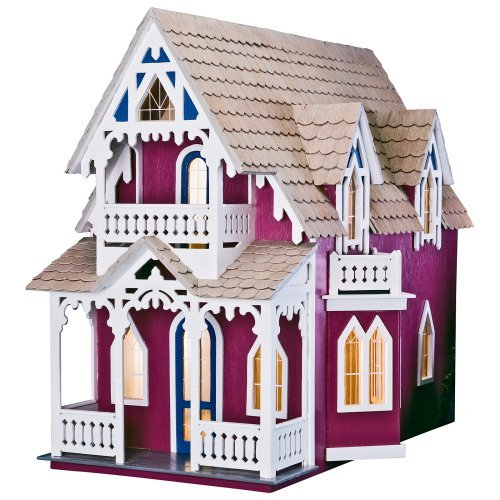 Greenleaf Vineyard Cottage Dollhouse Kit - 1 Inch Scale