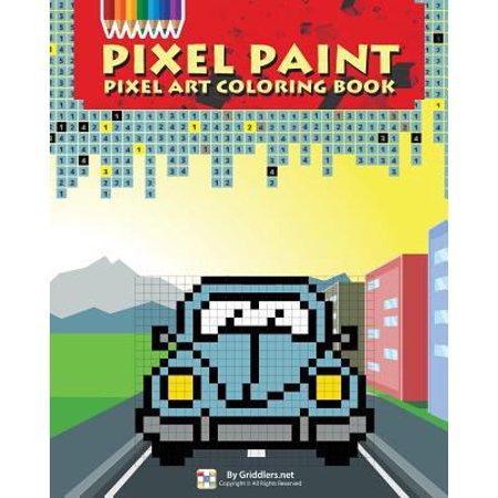 Pixel Paint Pixel Art Coloring Book