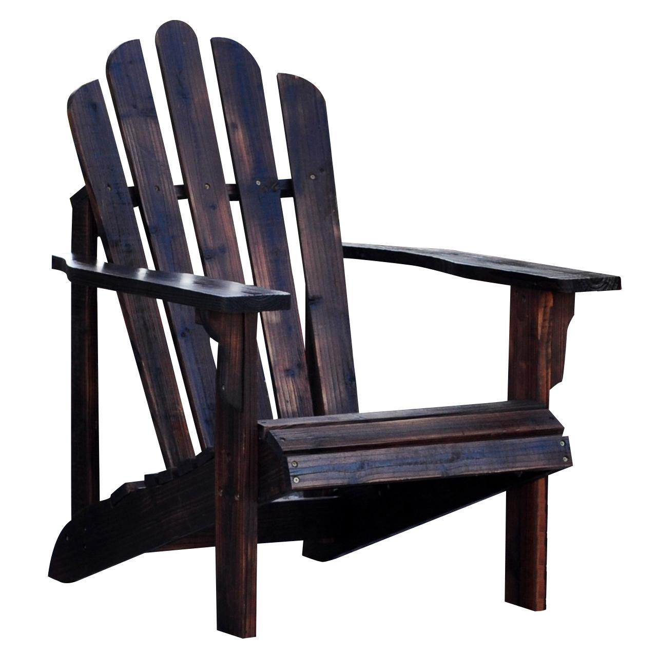 Westport Adirondack Chair Burnt Brown by Shine Company