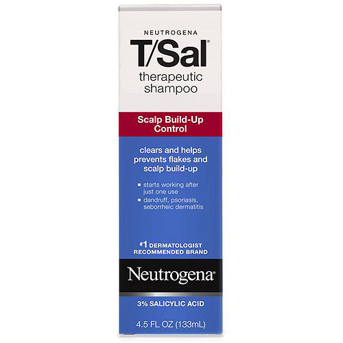 Neutrogena T/Sal Therapeutic Shampoo, 4.5 fl oz