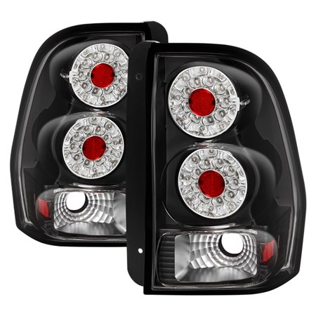 Vipmotoz Led Tail Light Lamp Assembly For 2002 2009 Chevy