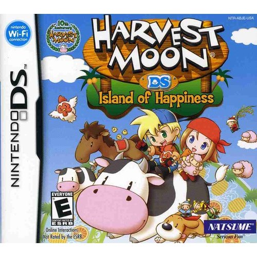 Harvest Moon: Island of Happiness NDS