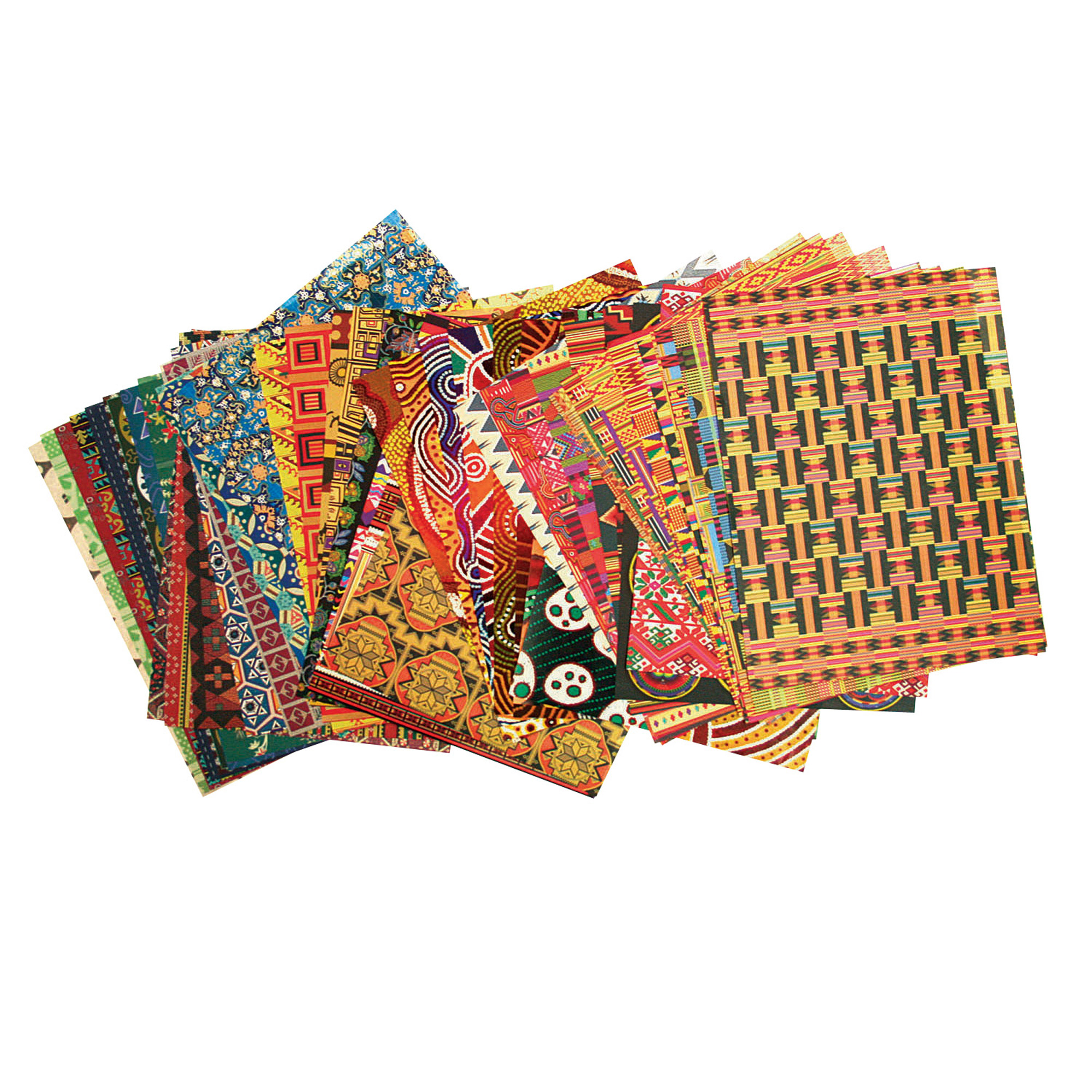 """Roylco® Around the World Paper Collection, 8.5"""" x 11"""", 96 Sheets"""