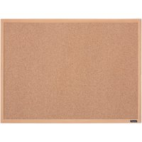 Quartet Cork Bulletin Board 17 x 23 Inches Oak Finish Frame (35-380342Q)