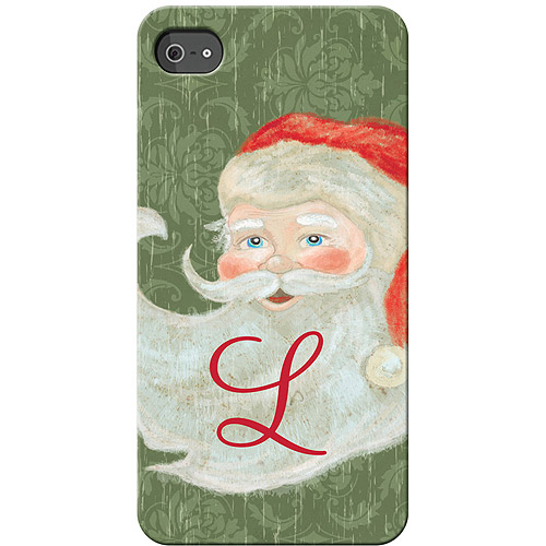 Personalized Santa Claus iPhone 4S Case