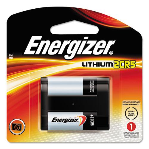 Energizer e  Lithium Photo Battery, 2CR5, 6V