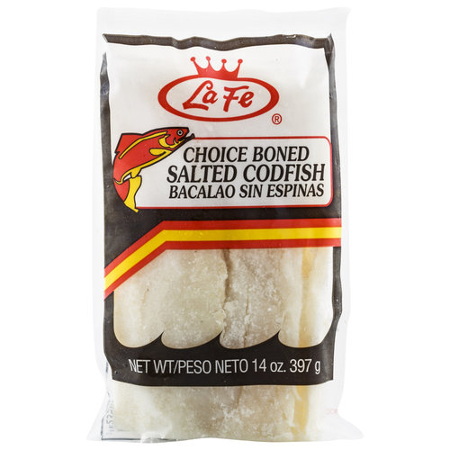 La Fe Salted Codfish, 14 oz