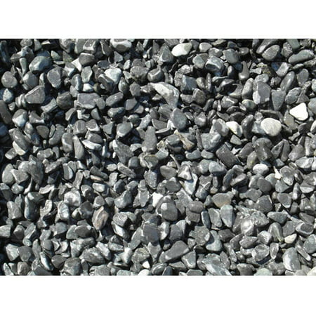 Exotic Pebbles & Aggregates Black Bean Pebbles, 5 lb