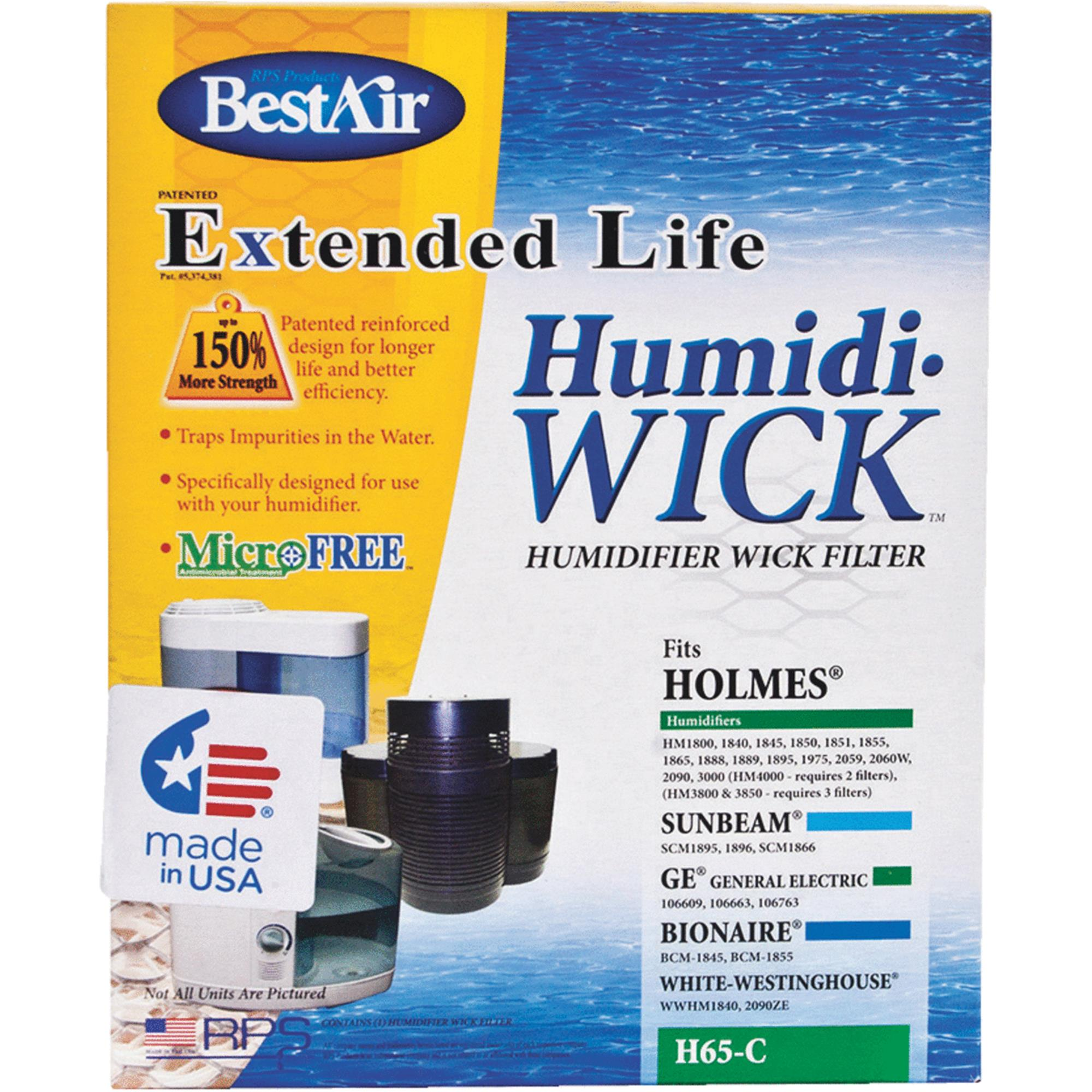 bestair extended life tabletop humidifier filter walmart com