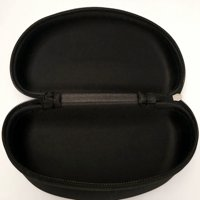 AkoaDa 1 Pc New Portable Zipper Eye Glasses Clam Shell Sunglasses Hard Case Protector Modern