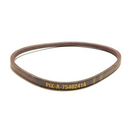 Belt Made to FSP Specifications Replaces Belt 754-0241, 954-0241, 754-0241A, 954-0241A, 754-05040, 954-05040. MTD, Cub Cadet, Troy-Bilt, Yard Machine, Bolens and (Cub Cadet Xt1 Rear Axle Seal Replacement)