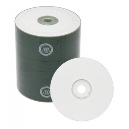 200 Spin-X 12X Digital Audio Music CD-R 80min 700MB White Inkjet