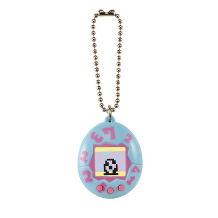 20Th Anniversary Tamagotchi Device  Blue With Pink