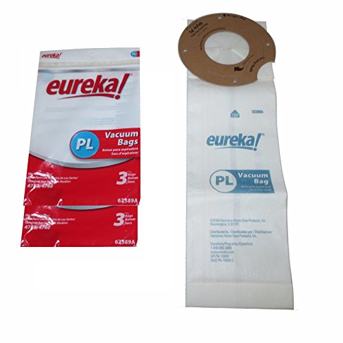 Genuine Eureka PL Vacuum Bag 62389A - 6 Pack