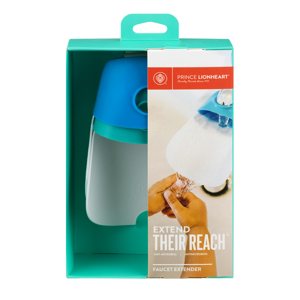 Prince Lionheart® Faucet Extenders –Gumball Green and Berry Blue