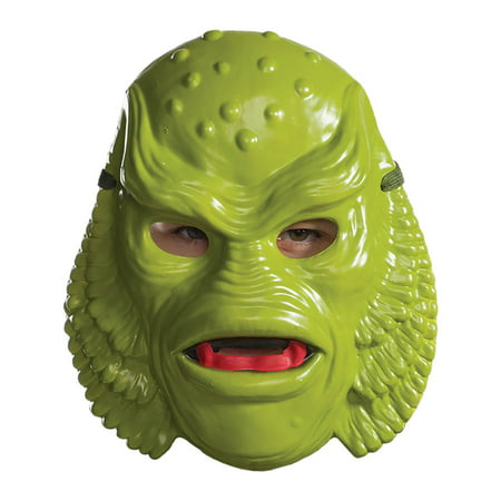 Universal Monsters Adult Creature From The Black Lagoon Mask Halloween Costume - Monster Mash Halloween Party