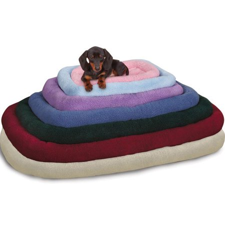 Slumber Pet Sherpa Crate Bed - Beige - X-Small