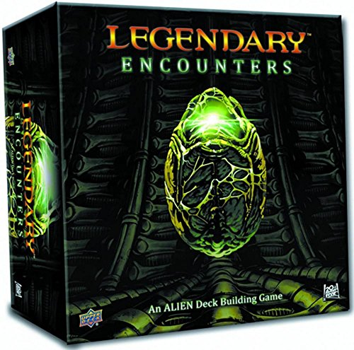 Legendary Encounters: An Alien Deck Building Game Multi-Colored