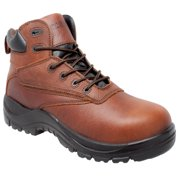 "Men's 7"" Wateproof Composite Safety Toe Brown Shoe"