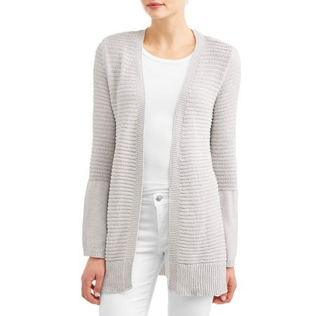 Allison Brittney - Women s Chenille Bell Sleeve Cardigan - Walmart.com 27d53a72b