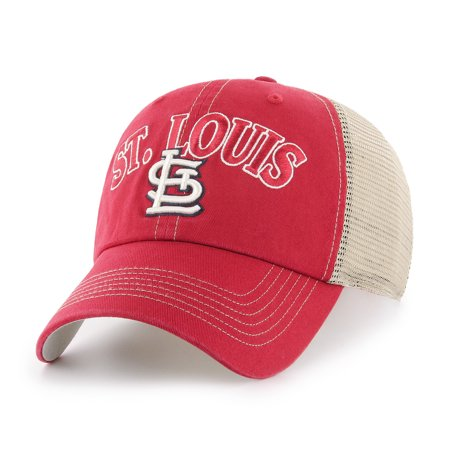 MLB St. Louis Cardinals Aliquippa Adjustable Cap/Hat by Fan - St Louis Cardinals Caps