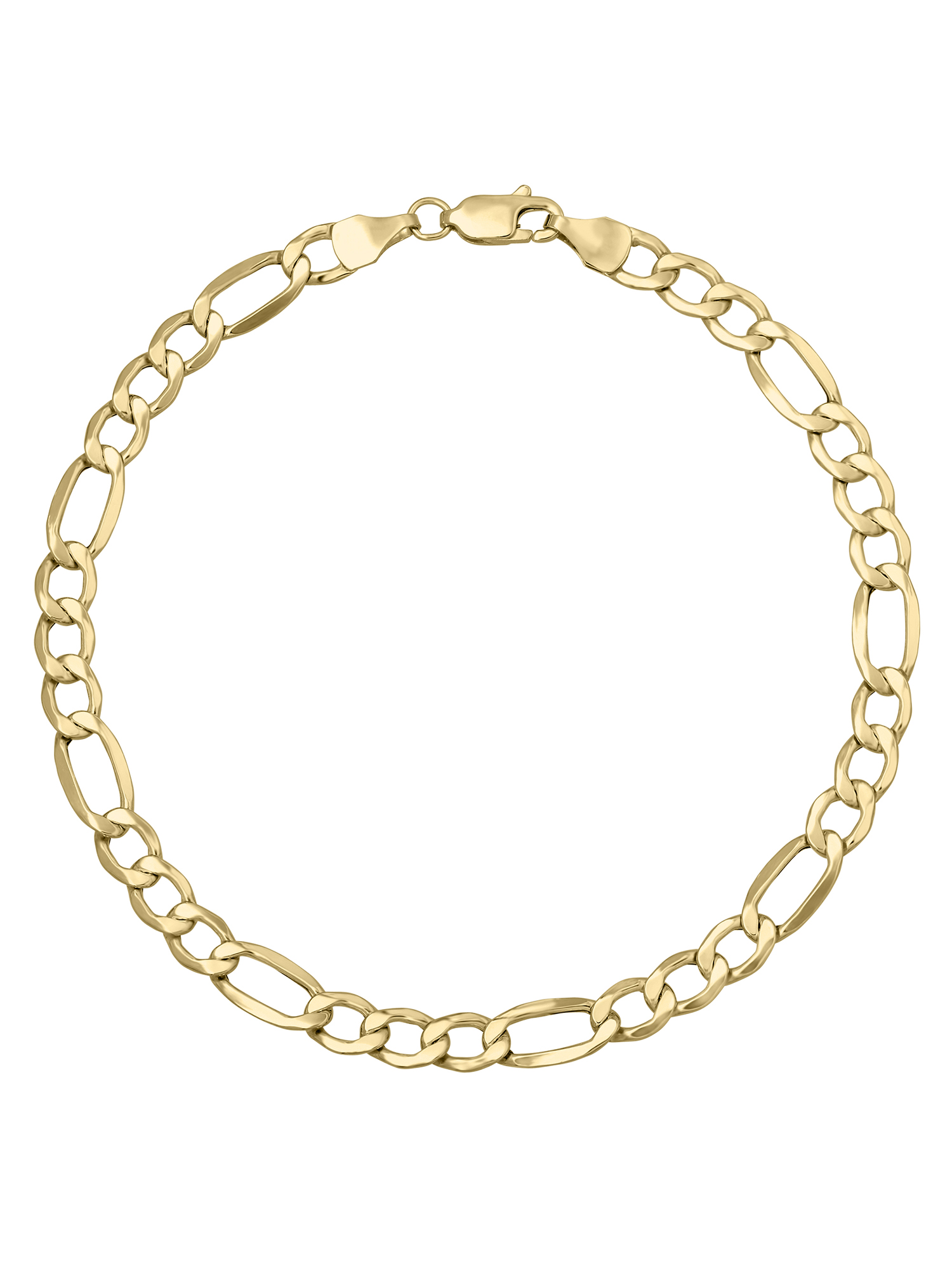 """Simply Gold� 10K Yellow Gold Figaro Chain-Style Bracelet, 8"""" by Richline Group Inc"""