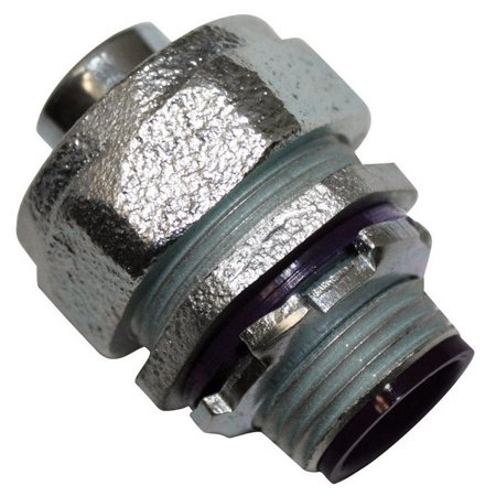 Sigma Electric 45760 Straight Connector Liquid Tight For Connecting Conduit, 1/2