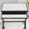 Better Homes & Gardens Ellis Nesting Accent Tables, Black