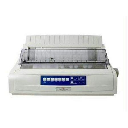 Okidata Microline 491 Printer - B/w - Dot-matrix - 360 Dpi - 24 Pin - 315 Cps - Parallel