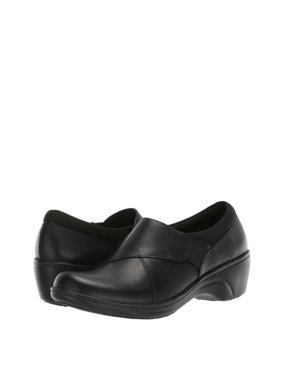 Clarks Grasp High Women's Leather Slip-Resistant Work Loafers 42720