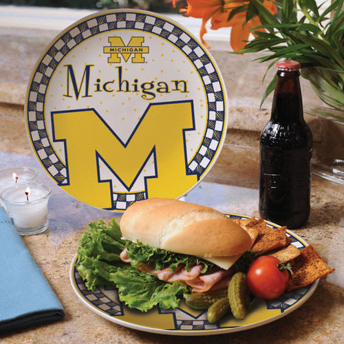 NCAA - Michigan Wolverines Gameday Ceramic Plate
