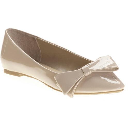 Women's Floppy Bow Flats