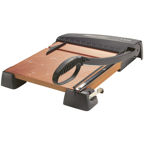 X-ACTO Heavy-Duty Wood Base Guillotine/Swing Arm Paper Trimmer