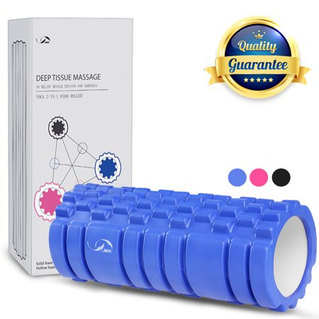 Upper Roller (JBM Foam Roller Muscle Roller Massage Deep Tissue Roller Back Leg Body Roller for Yoga Exercise Fitness Cross fit Lifting)