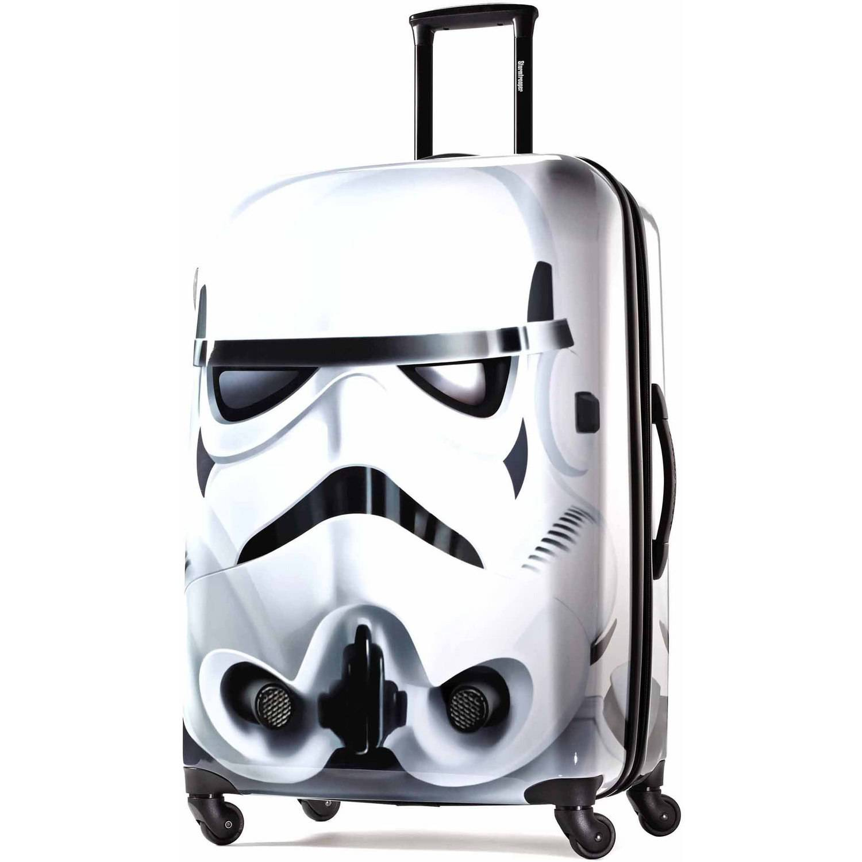 "American Tourister Disney Star Wars Storm Trooper 28"" Spinner Hard Side Suitcase"