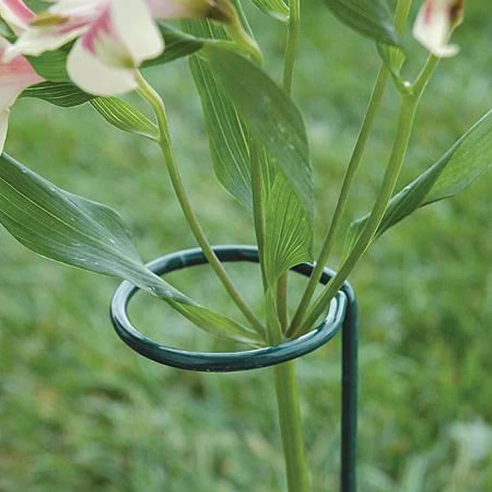 4pcs Plant Support Stakes Garden Flower Stand Holder Stake For Tomatoes Lily Walmart Com Walmart Com