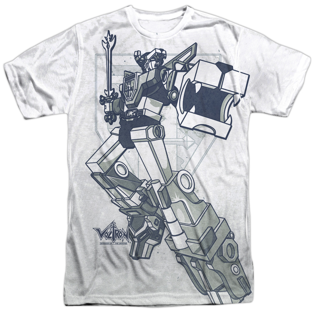 Voltron DEFENDER 1-Sided Sublimated Big Print Poly T-Shirt