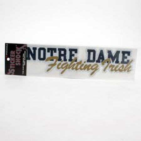 Nd Fighting Irish (Notre Dame Fighting Irish High Performance Decal - Nd W/fighting)