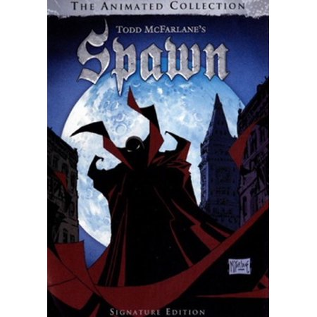 Spawn: The Animated Collection (DVD)](Halloween Animated Movies)
